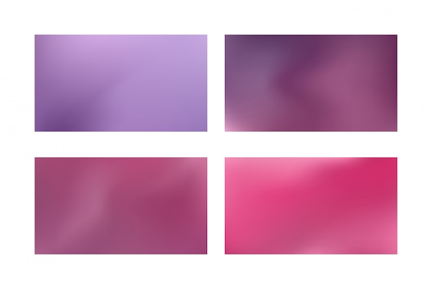 Abstract blue and purple blurred gradient mesh background