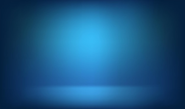 Abstract blue room background. vector illustration
