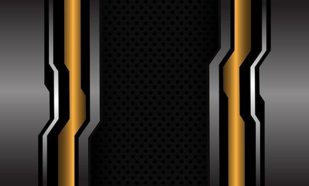 抽象ブルーシルバーグレーサークルメッシュテクノロジーデザインモダン未来
