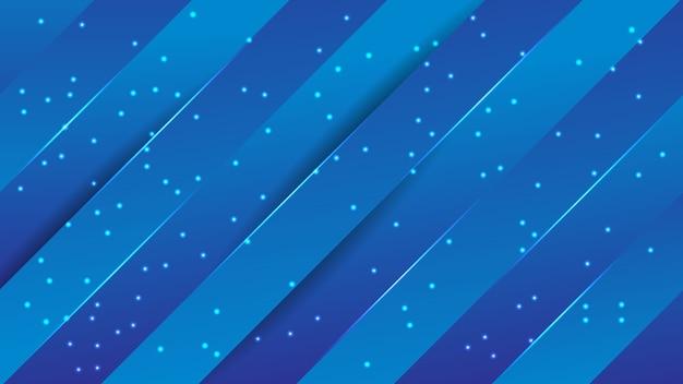 抽象的な青い空のデザイン