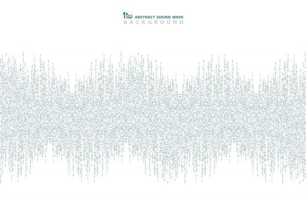 Абстрактный синий квадратный узор