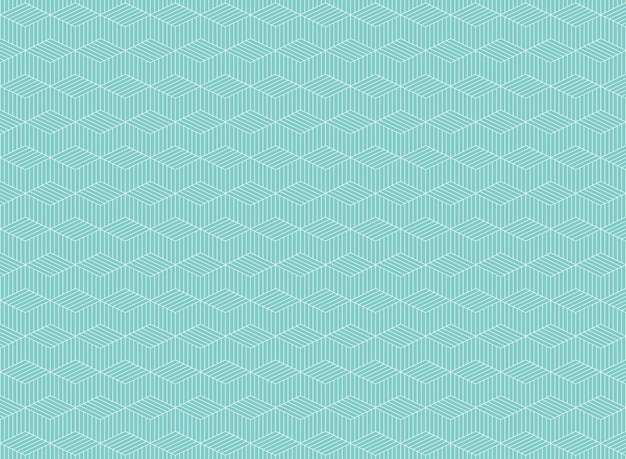 Abstract of blue stripe line pattern of zig zag background
