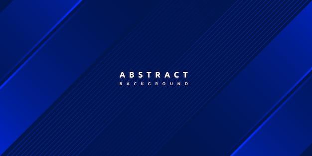 Абстрактная синяя полоса с фоном слоя ломтика бумаги