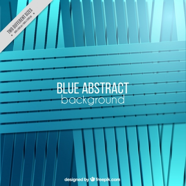 Abstract blue striped background