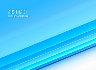 Abstract blue stripes background design in business style
