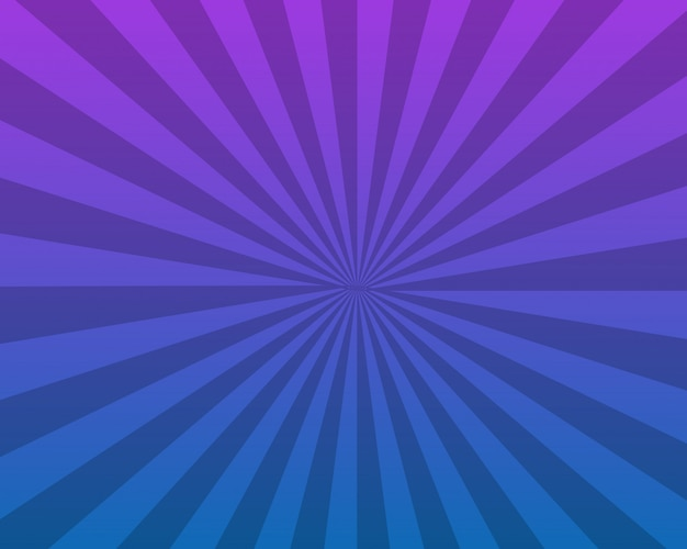 Abstract blue sunburst background design