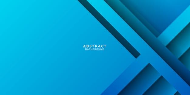 抽象的な青い技術の背景