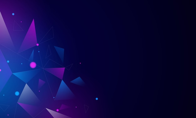 Abstract blue technology communication concept background