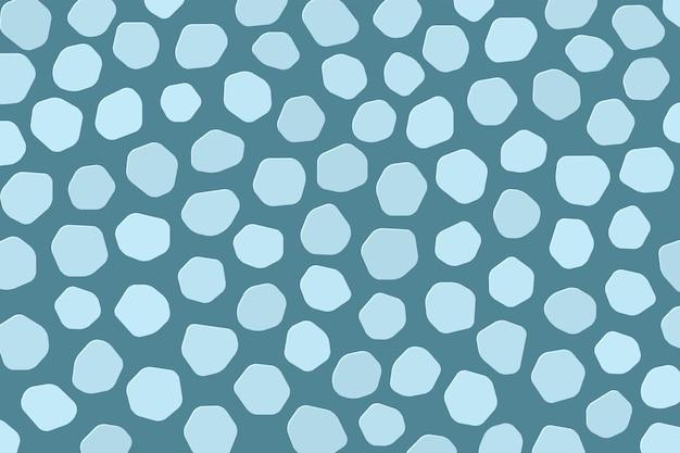 추상 블루 voronoi 텍스처 디자인 벡터 모자이크 패턴