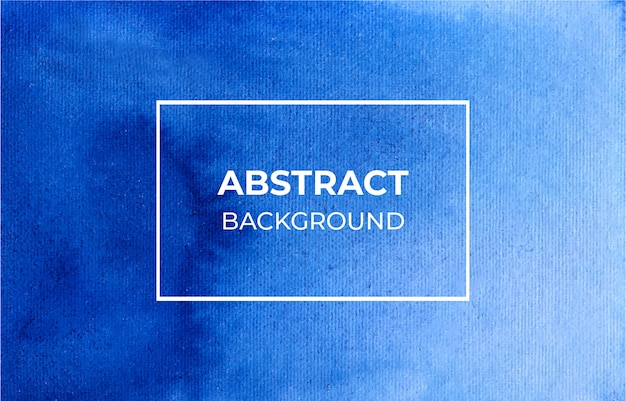 抽象的な青い水彩背景