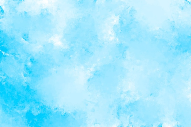 Abstract blue watercolor splashing background