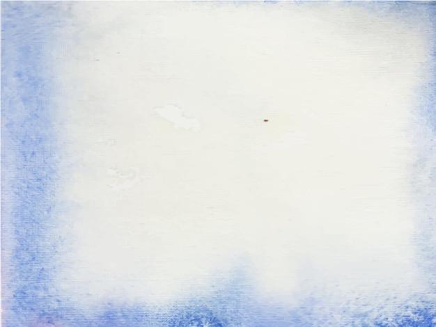 抽象的な青い水彩テクスチャの背景。手描きです。