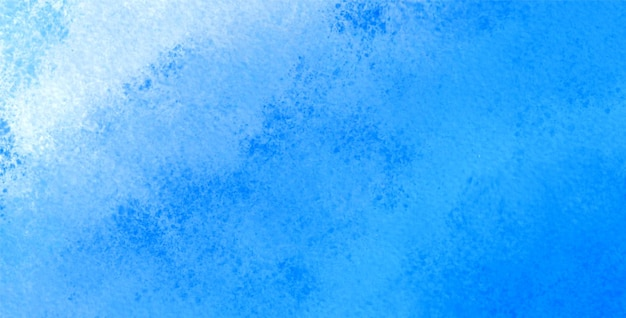 Abstract blue watercolor texture