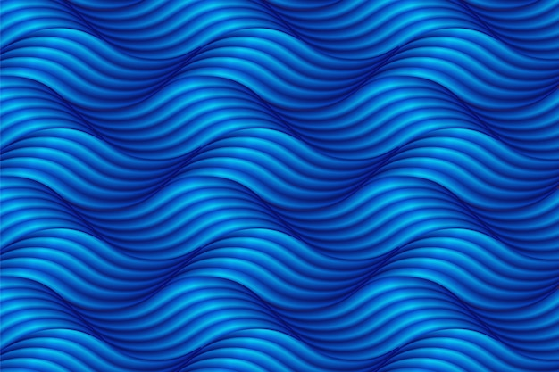 Abstract blue wave background in asian style.