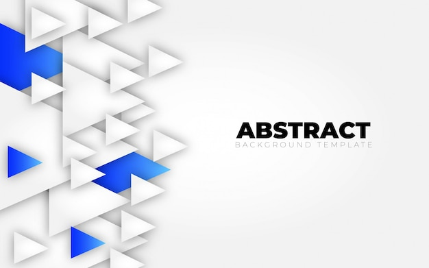 Abstract blue white background