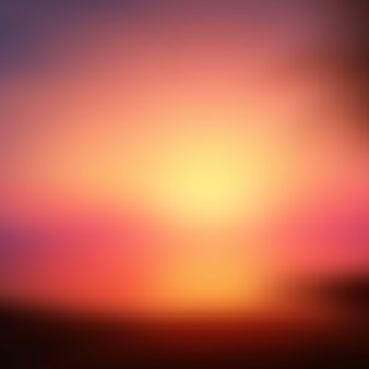 Abstract blur background of sunset