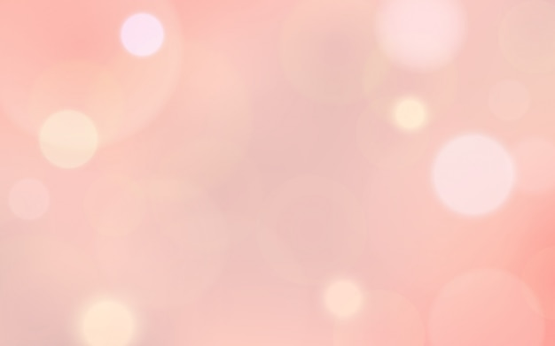 Abstract blur bokeh and lens flare on pink color of valentine's day