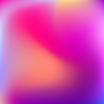 Abstract blur gradient background with trend pastel pink, purple Premium Vector