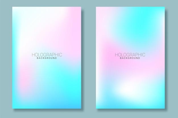 Абстрактный размытие градиентный фон с трендовой пастелью