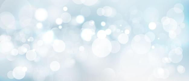 Абстрактный размытый световой элемент, который можно использовать для декоративного фона боке. Premium векторы
