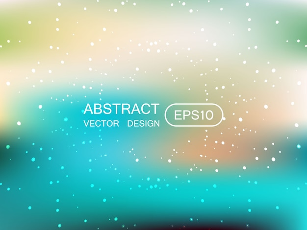 Abstract blur multicolored  background with stars
