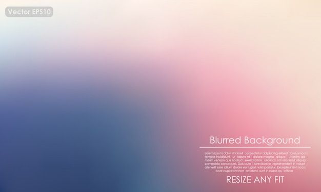 Abstract blurred background, easy to resize