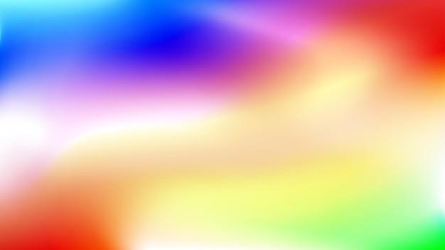 Абстрактный размытый красочный градиентный фон