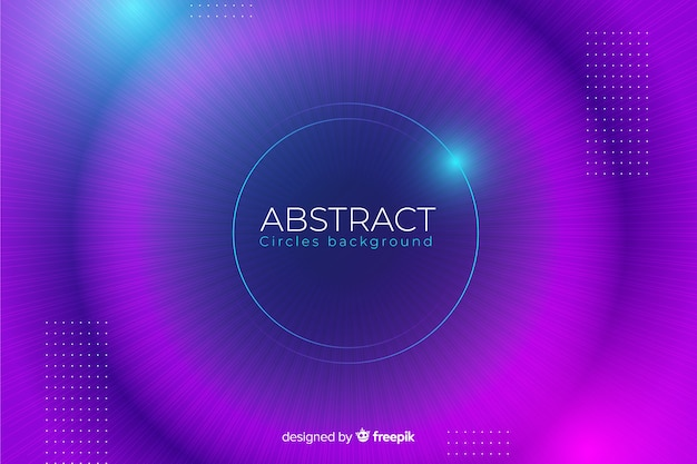 Abstract blurred colourful circles background
