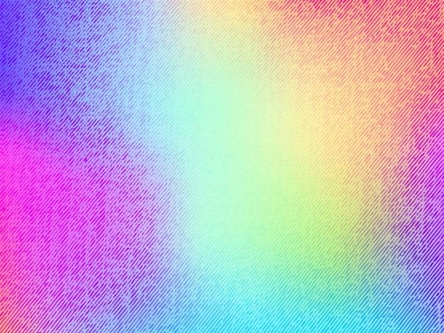 Абстрактный размытый фон градиентной сетки в ярких цветах с джинсовой текстурой. красочный гладкий баннер шаблон. современный векторный фон