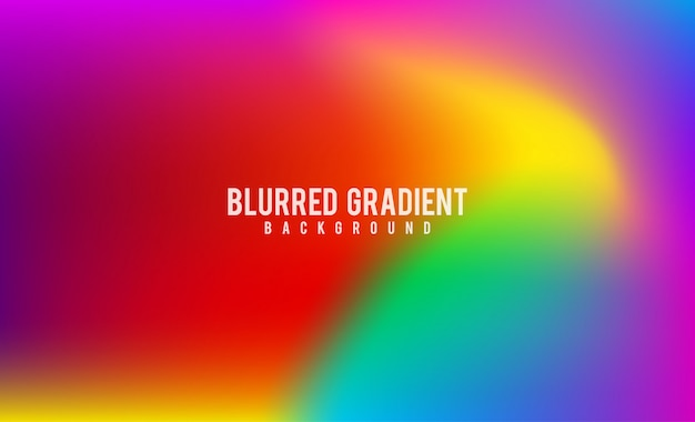 Abstract blurred gradient mesh background stock footage