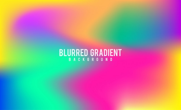 Abstract blurred gradient mesh background stock footage.