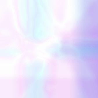 Abstract blurred holographic background in pastel light colors