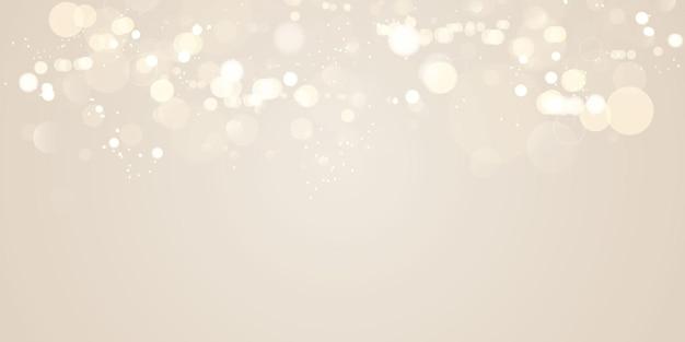 커버 장식 bokeh 배경 벡터에 사용할 수있는 추상 흐린 된 빛 요소