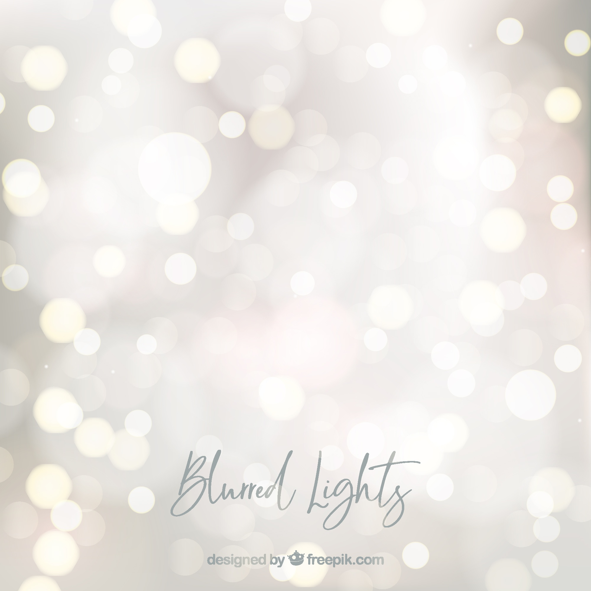 Abstract blurred lights background