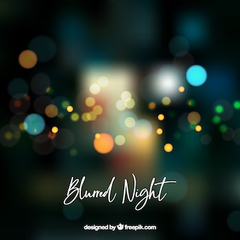 Abstract blurred night background