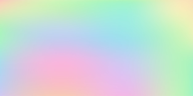 Abstract blurry pastel colored soft gradient vector background