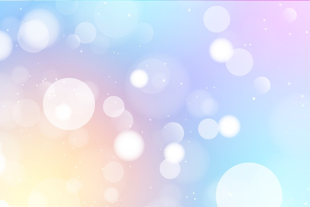 Abstract bokeh background with light