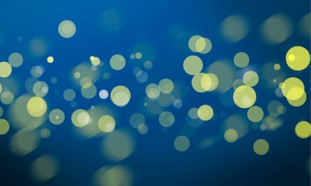 Abstract bokeh blurred lights wallpaper