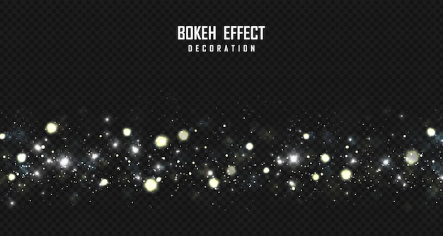 Абстрактное bokeh растет предпосылка художественного произведения влияния элемента декоративная.