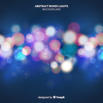 Abstract bokeh lights bakground