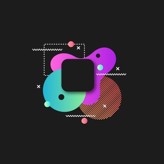 Abstract bold color background