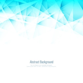 Abstract bright blue polygonal background