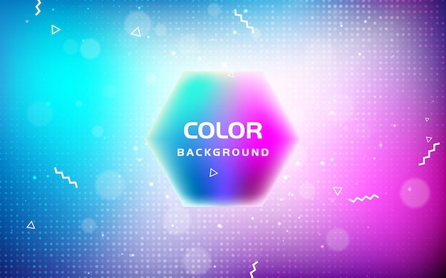 Abstract bright blurred gradient mesh background