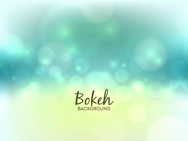 Abstract bright bokeh light background