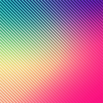 Abstract bright colorful lines background