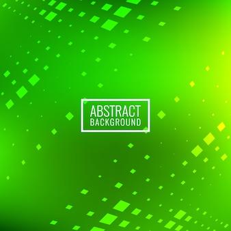 抽象的な明るい緑の正方形のブロックの背景