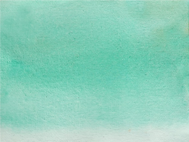 抽象的な明るい緑の水彩画の背景。手描きです。