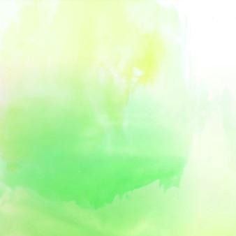 Абстрактный ярко-зеленый акварельный фон