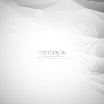 Abstract bright grey polygonal background