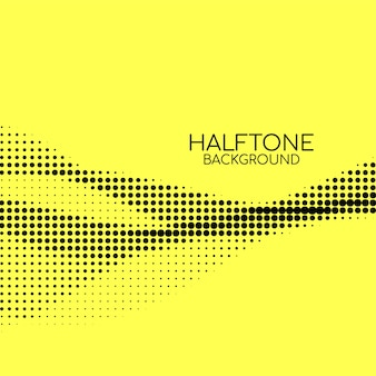 Abstract bright halftone background